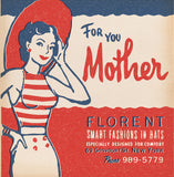 Matchbook Mother's Day Card