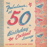 Matchbook 50th Birthday Card for Her