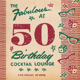 Matchbook 50th Birthday Card for Him