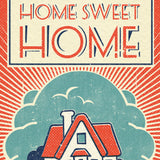 Matchbook A4 Print: Home Sweet Home