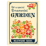 Matchbook A4 Print: Seed Packet