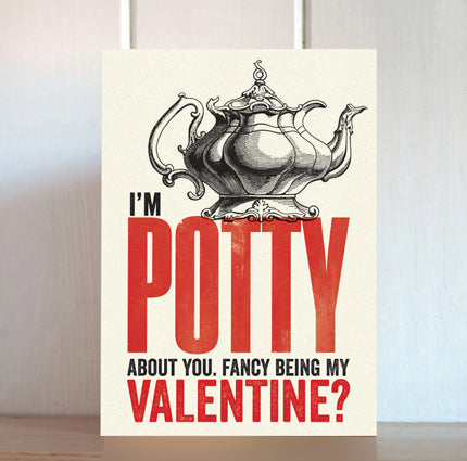 Modern Life is Rubbish: Potty Valentine Card