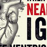 Modern Life is Rubbish: Ventricular Valentine Card
