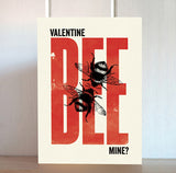 Modern Life is Rubbish: Bee Mine Valentine Card