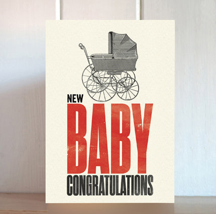 Modern Life is Rubbish: New Baby Card
