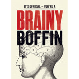 Modern Life is Rubbish: Brainy Boffin Congratulations