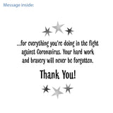 NHS Thank You Card: 100% profits to NHS Charities