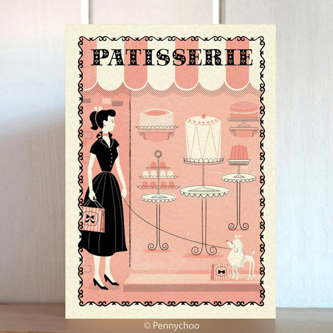 Paris Shopping Card: Patisserie