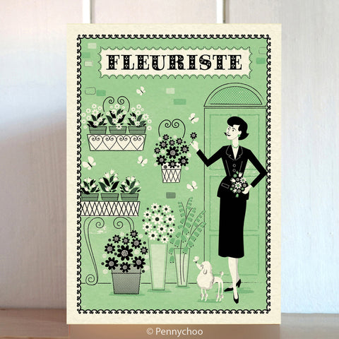 Paris Shopping Card: Fleuriste