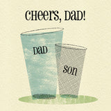 Primavera –  Cheers Dad! Father's Day Card