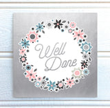 Fiore Luxurious Foiled Well Done Card