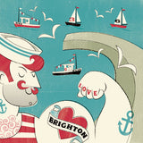 Love Brighton Tattoo Card