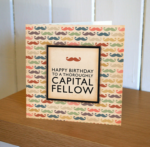 Wooster 'Capital Fellow' Birthday Card