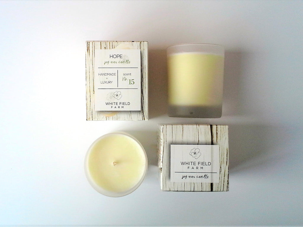 HOPE (spring lilac) soy wax candle 7 oz
