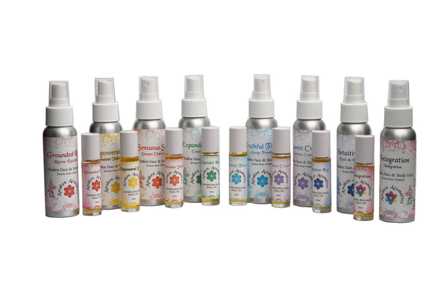 Chakra Balance Spray & Roll On Collection