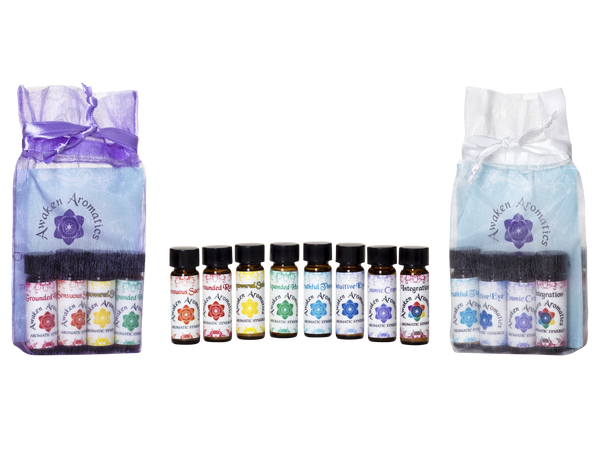 Chakra Balance 4ml Kits with bag