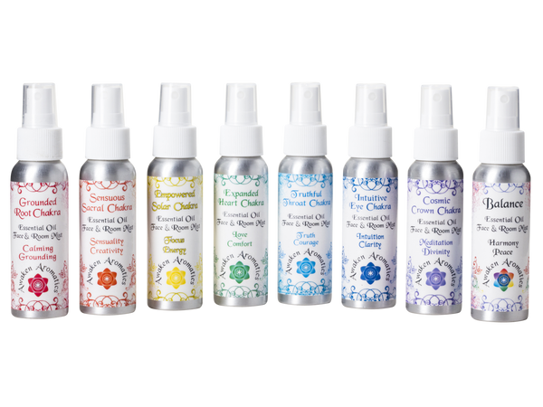 Chakra Balance Essential Oil Spray Collection