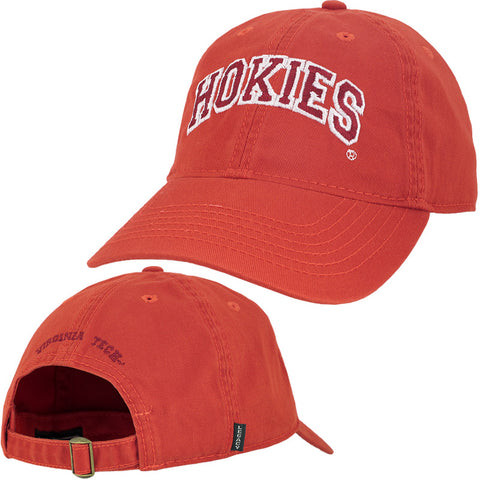 Virginia Tech Hokies Hat: Orange by Legacy