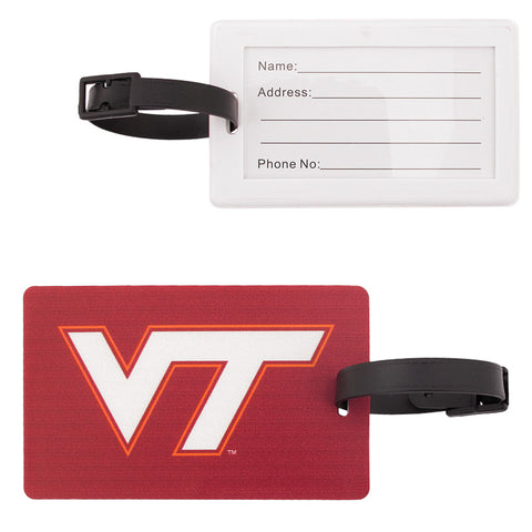 Virginia Tech Logo Luggage Tag
