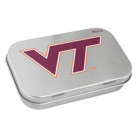 Virginia Tech Breath Mint Tin: Large