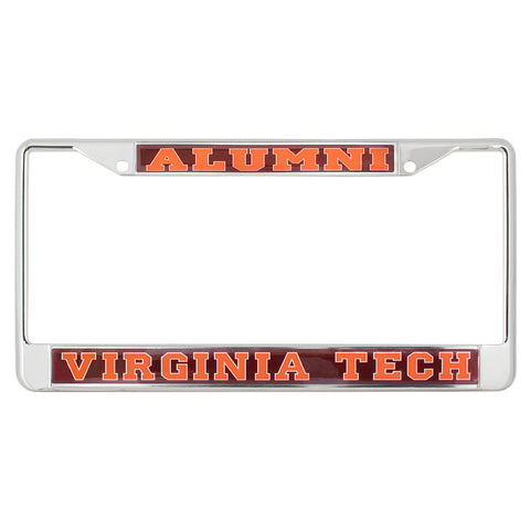 Virginia Tech Alumni Domed License Plate Frame