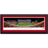 Virginia Tech Lane Stadium Orange Effect Panoramic Print Deluxe Frame