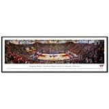 Virginia Tech Cassell Coliseum Panoramic Print Standard Frame