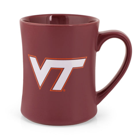 Virginia Tech Matte Wordmark Mug: Maroon