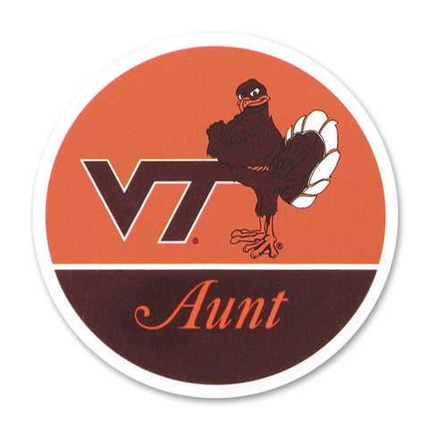 Virginia Tech Family Refrigerator Magnet: Aunt