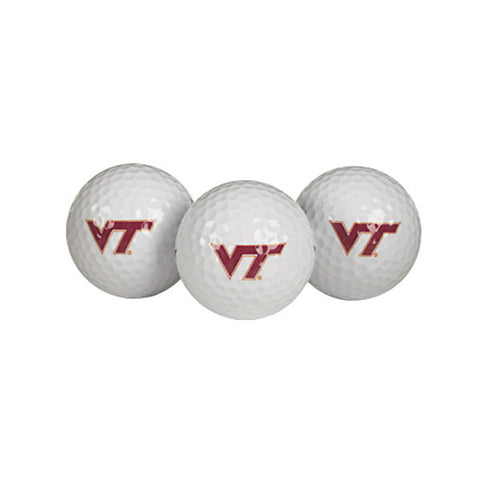 Virginia Tech Golf Balls: Pack of 3