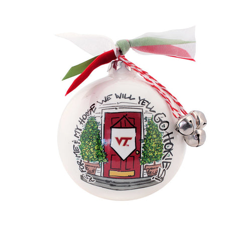 MadSportsStuff Virginia Tech University Christmas Ornament
