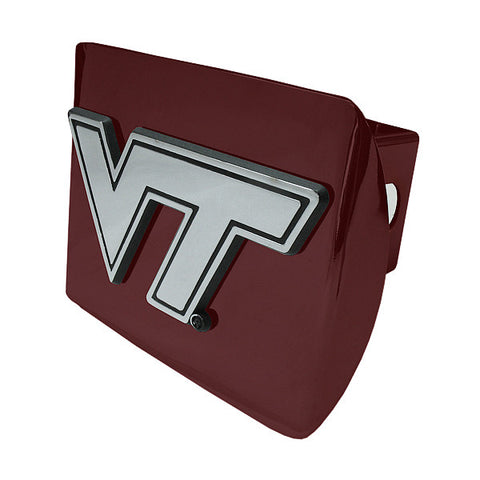 Virginia Tech Hitch Cover: Maroon