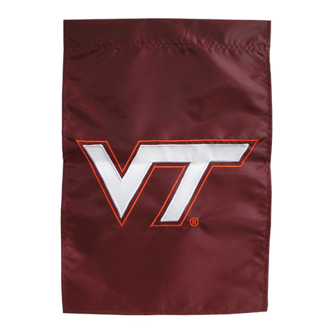 Virginia Tech Applique Garden Flag