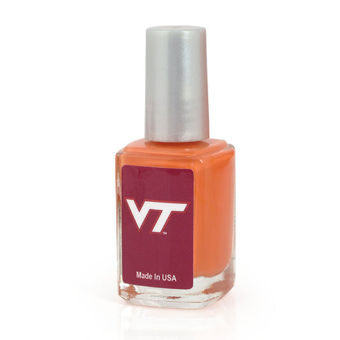 Virginia Tech Nail Polish: Orange