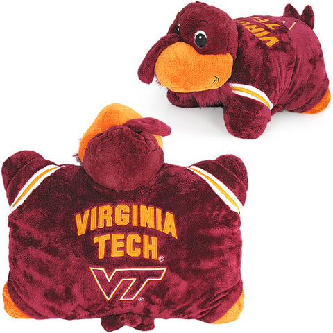 Virginia Tech Hokie Bird Pillow Pet