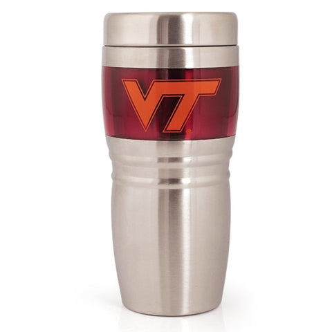 Virginia Tech 16oz. Steel City Travel Tumbler