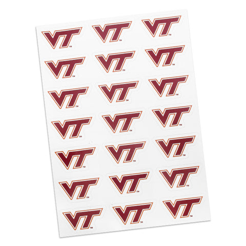 Virginia Tech Logo Sticker Sheet