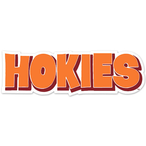 Virginia Tech Hokies Car Decal