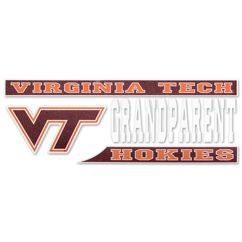 Virginia Tech Hokies Grandparent Decal