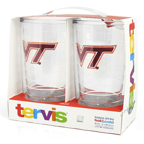Virginia Tech Tumbler Two Pack: 16 oz. by Tervis Tumbler