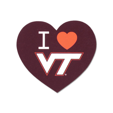"Virginia Tech ""I Heart VT"" Refrigerator Magnet"