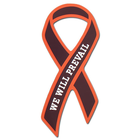 "Maroon and Orange ""We Will Prevail"" Magnet"
