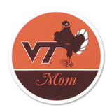 Virginia Tech Family Refrigerator Magnet: Mom