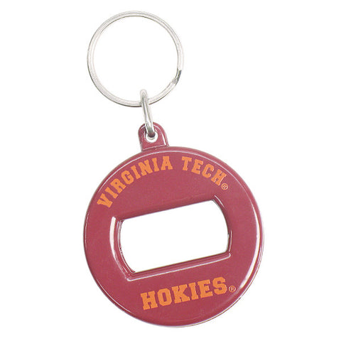 Virginia Tech Bottle Opener Keychain