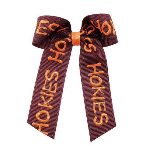 Virginia Tech Hokies Bow Barrette