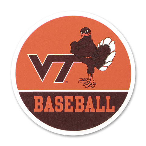Virginia Tech Sports Refrigerator Magnet: Baseball