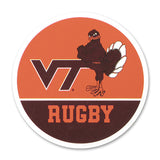 Virginia Tech Sports Refrigerator Magnet: Rugby