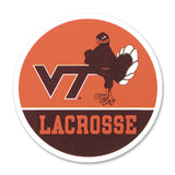 Virginia Tech Sports Refrigerator Magnet: Lacrosse