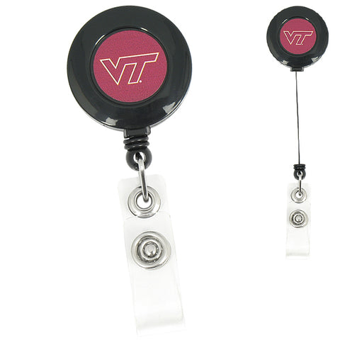 Virginia Tech Retractable Badge Holder
