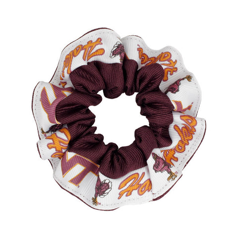 Virginia Tech Hokies Hair Scrunchie